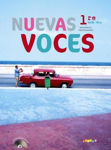 9782278069378: Nuevas Voces 1re - manuel grand format + CD mp3