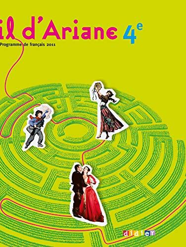 Fil d'Ariane 4e - Manuel format compact: Geneviève Ginter; Bérengère Humbert-Vier; Armelle ...