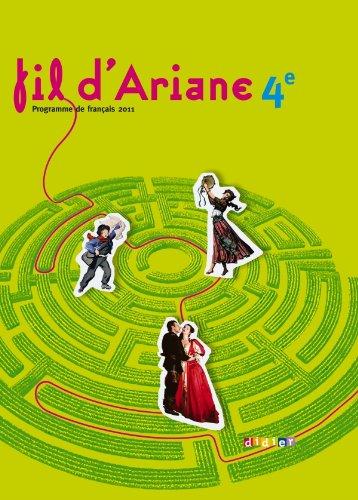 9782278069422: Fil d'Ariane 4e - Manuel grand format