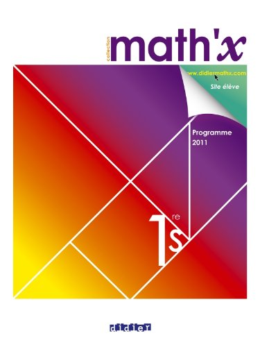 9782278069484: Math'x 1re S - manuel format compact - édition 2011