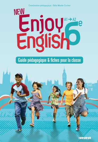 9782278069545: New Enjoy English 6e - Guide pédagogique + fiches