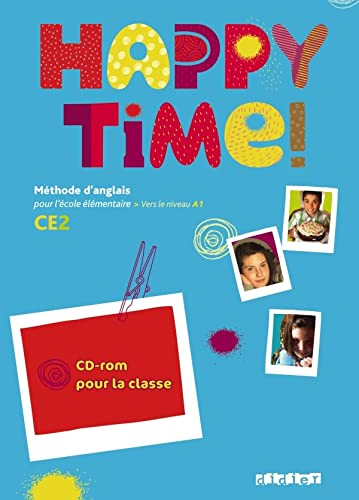 9782278069798: Happy Time CE2 - CD-rom classe