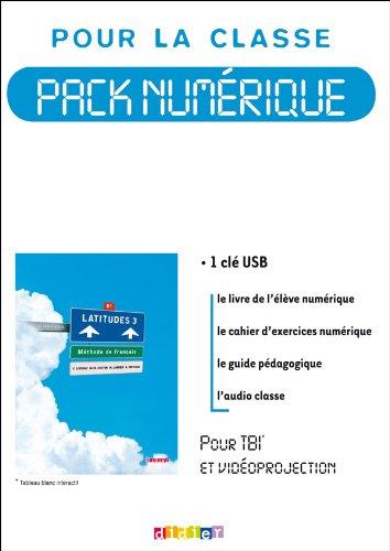 9782278069880: Latitudes 3 niv.B1 - Pack numérique classe