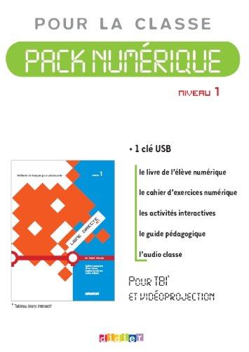 9782278069897: Ligne directe 1 niveau A1 - pack numerique 1 licence - Cle USB (French Edition)