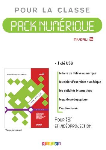 9782278069903: Ligne directe 2 niv.A2.1 - Pack numérique 1 - licence - Clé USB