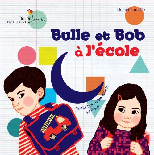 9782278071074: Bulle et bob a l'ecole (Book + CD)