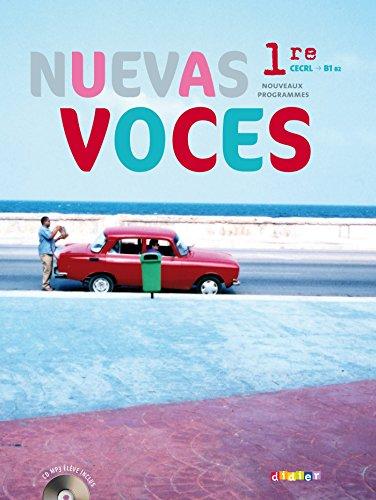 9782278071425: Nuevas Voces 1re - Manuel format compact + CD mp3