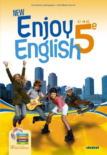 9782278072361: New Enjoy English 5e Manuel + DVD ROM