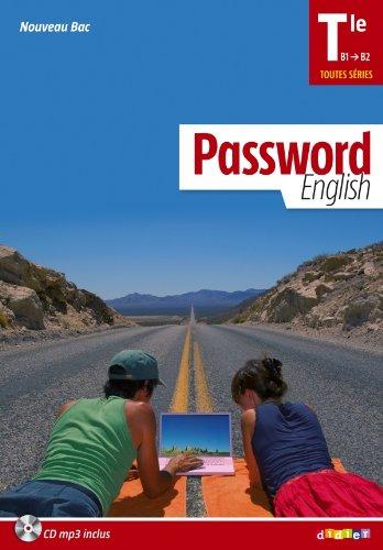 9782278072408: password english terminale - manuel + cd mp3