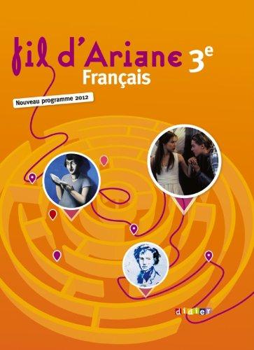 9782278072446: Fil d'ariane 3e - Manuel grand format