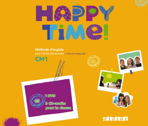 9782278073191: Happy Time!: CD Audio + DVD Classe Cm1 (French Edition)