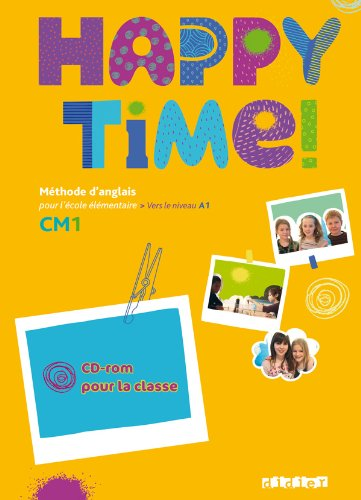 9782278073207: Happy Time!: CD-Rom Classe Cm1 (French Edition)