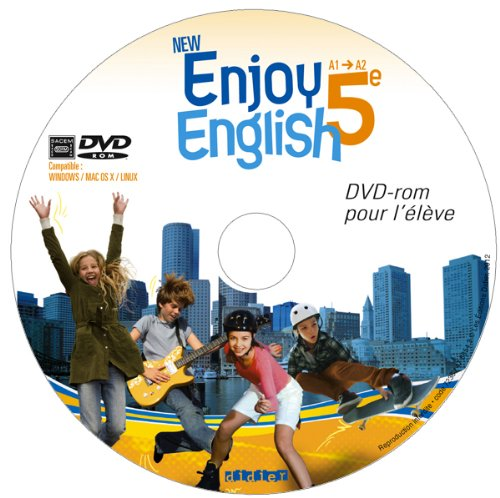 9782278073245: New Enjoy English 5e - DVD-rom élève de remplacement