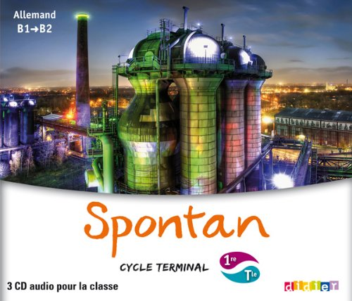 9782278073467: spontan 1re terminale - coffret 2 cd audio classe