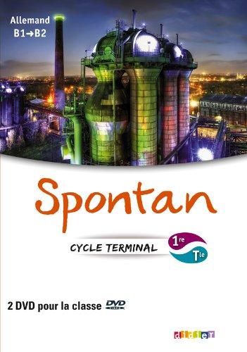 9782278073474: Spontan 1re/Tle - B1/B2 - 2 DVD classe