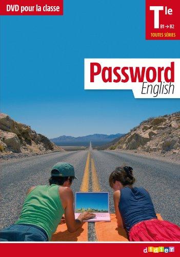 9782278073511: Password English Terminale - DVD classe