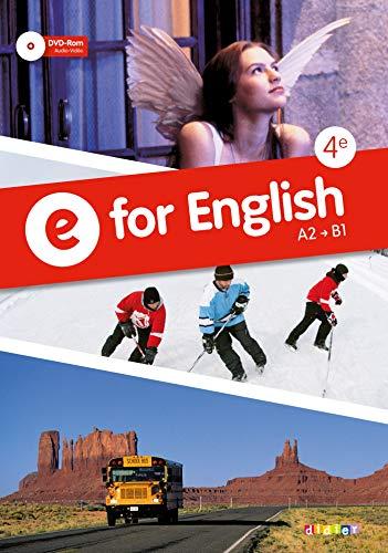 9782278073740: E for English 4e - Manuel + DVD rom
