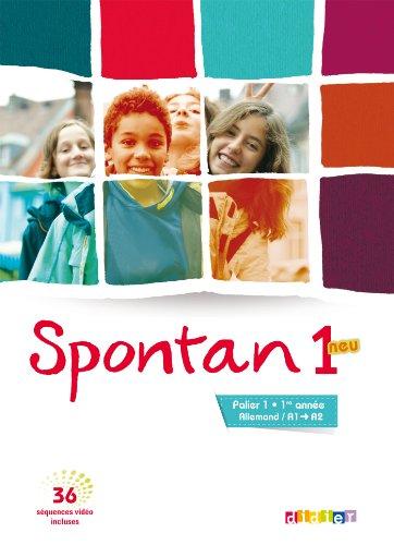 9782278076178: Spontan 1 neu palier 1 - 1re année - Manuel + DVD
