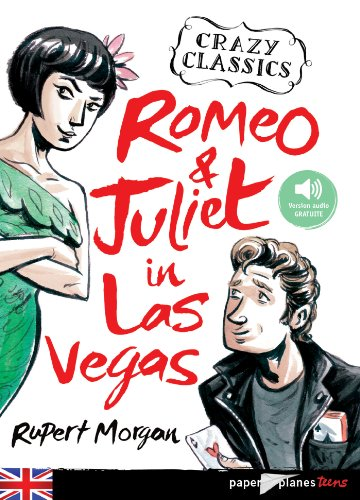 9782278076208: romeo and Juliet in Las Vegas - Livre + mp3