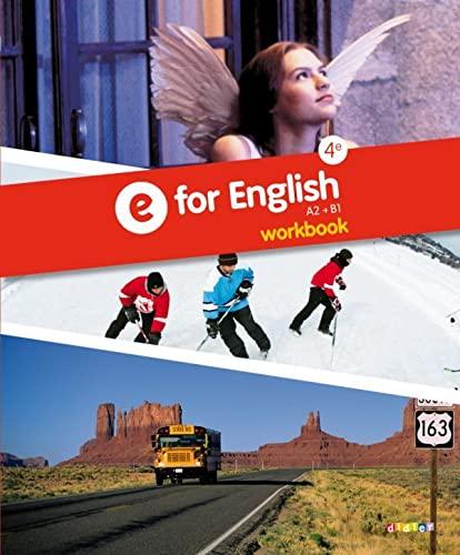 9782278076888: E for English 4e - Workbook -version papier