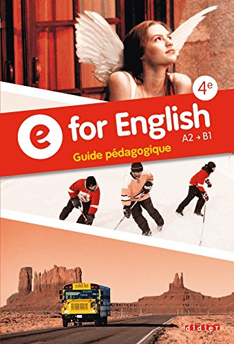 9782278077076: E for English 4e - Guide p�dagogique
