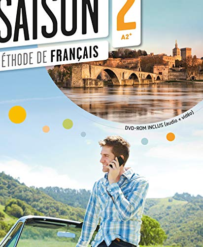 9782278077533: Saison 2 Livre de L'eleve (A2-B1) + CD + DVD (French Edition)