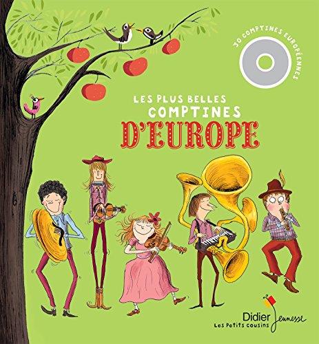 9782278078639: Les Plus Belles Comptines d'Europe (Les petits cousins)