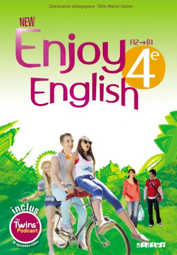 9782278078943: New Enjoy English 4e - Livre + DVD-Rom