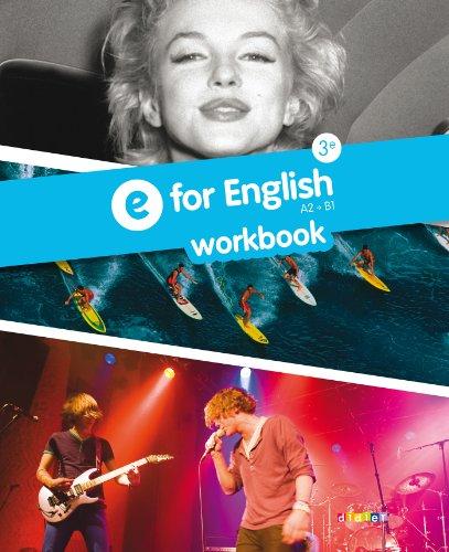 9782278079063: E for English 3e - Cahier d'activités