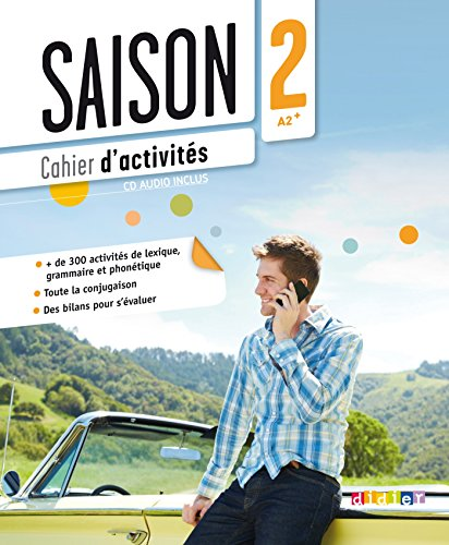 9782278079186: Saison 2 : Cahier D'activites (A2-B1) + CD Audio (French Edition)