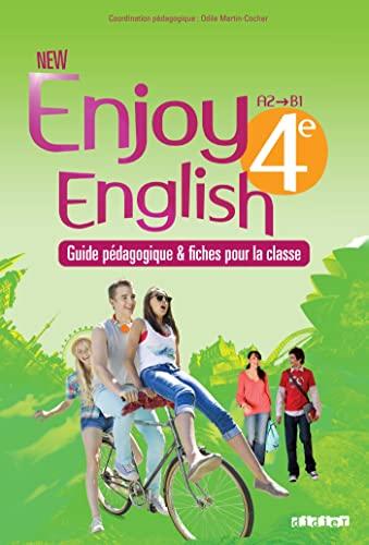 9782278079308: New Enjoy English 4e - Guide pédagogique + fiches classe