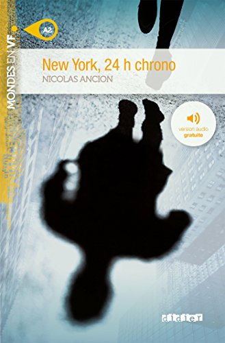 9782278079704: New York 24h chrono niv. A2 - Livre + mp3