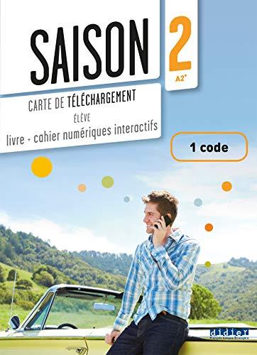 9782278080298: Saison 2 - Carte de téléchargement numerique élève - 1 code (French Edition)