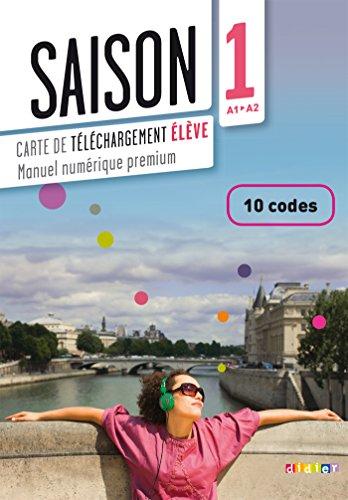 9782278080328: Saison 1 - carte de téléchargement numérique élève 10 codes (French Edition)