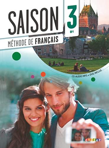 9782278080434: Saison 3 - Livre + CD audio + DVD (French Edition)