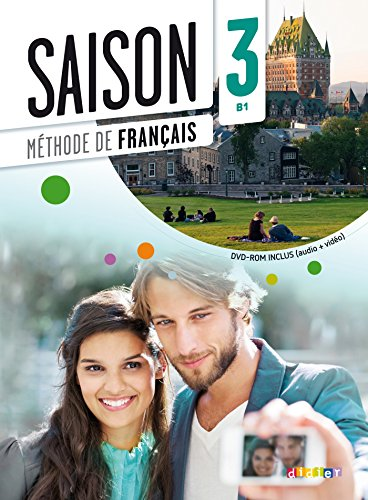 9782278080434: Saison 3 - Livre + CD audio + DVD (French Edition)