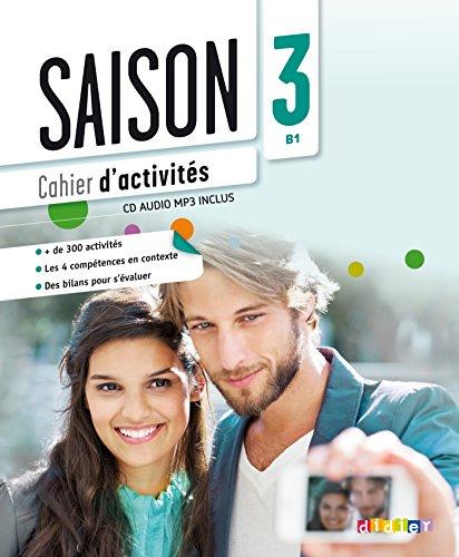 9782278081097: Saison 3 niv.B1 - Cahier + CD mp3
