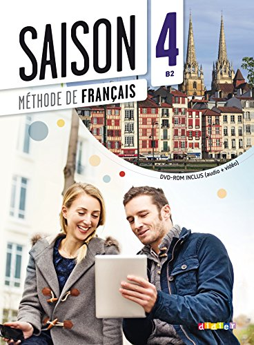 9782278081103: Saison 4 niv.B2 - Livre + CD mp3 + DVD