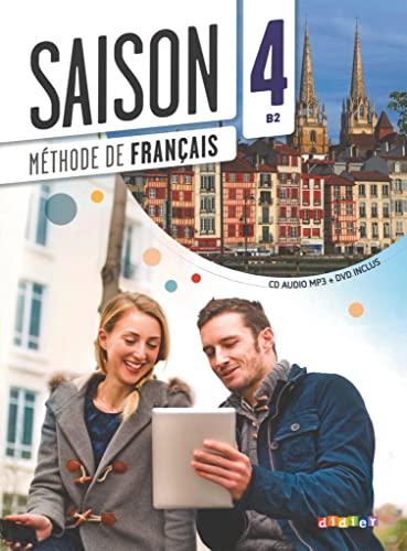 9782278081103: Saison niveau 4 - livre de l'eleve + cd mp3 + dvd (French Edition)