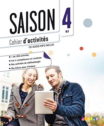 9782278081110: Saison 4 niv.B2 - Cahier + CD mp3