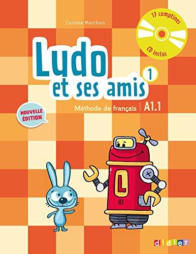 9782278081219: Ludo et ses amis niveau 1 ; 2015 - livre + cd audio (French Edition)