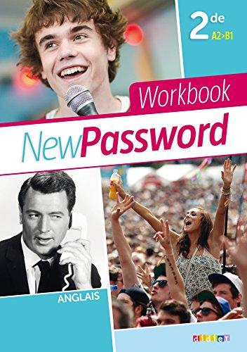 9782278082643: New Password English 2de - Cahier