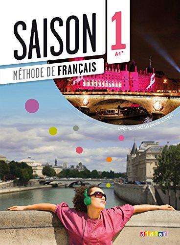 Saison: Livre de l'eleve (A1+) + DVD-Rom: Marie-Noëlle Cocton, Elodie
