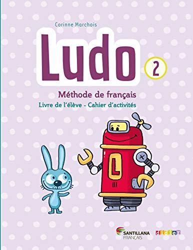 9782278083213: Ludo et Ses Amis Santillana Niv.2 (ed. 2015) - Livre + Cahier