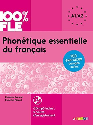 9782278083398: Phonétique essentielle du français niveau A1 A2 - Livre + CD mp3 (French Edition)