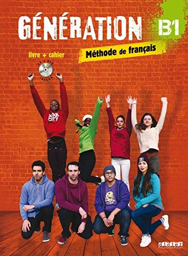 9782278086351: Génération 3 niv. B1 - Livre + Cahier + CD mp3 + DVD (French Edition)