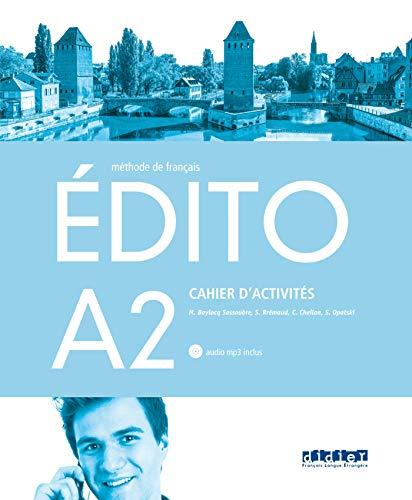 9782278086900: Edito A2 Santillana - Cahier + CD