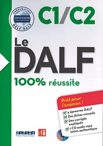 9782278087945: Le DALF: DALF C1/C2 100% reussite Ksiazka + plyta MP3 [Lingua francese]