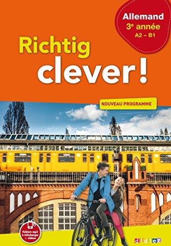 9782278087952: Richtig Clever 3e année - Livre