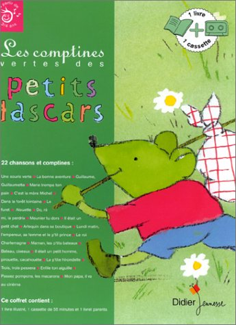 9782278300297: LES COMPTINES VERTES DES PETITS LASCARS. Cassette